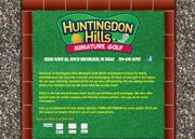 Huntingdon Hills Mini Golf